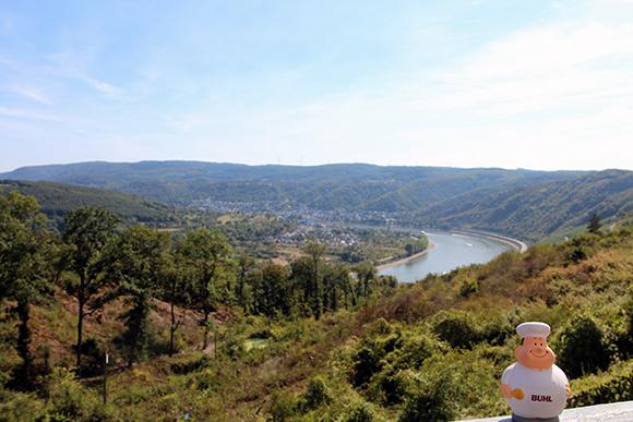 Bert von BUHL war auch in Koblenz am Rhein unterwegs.