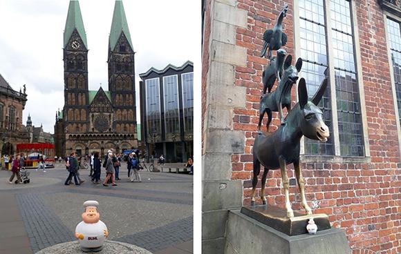 Bremen hatte für Bert von BUHL viel zu bieten.