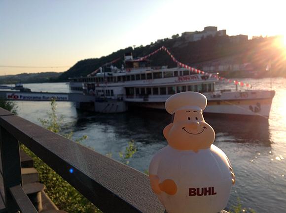 In Koblenz lässt es sich gut leben. Hier gibt es so viele Eisdielen wie in Rom!