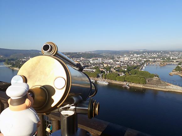 In Koblenz am Rhein kan bei Bert von Buhl beinahe italienischen Feeling auf.