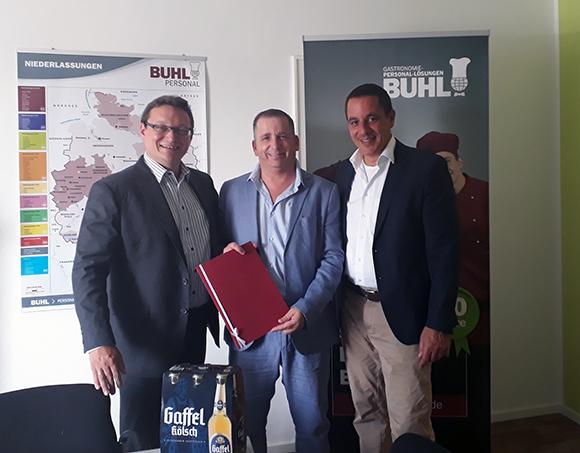 Frank Pfister aus Bonn arbeitet seit 10 Jahren bei BUHL!