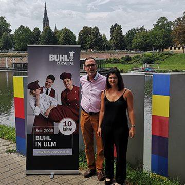 Seit 10 jahren ist BUHL in Ulm mit einer eigenen Niederlassung für die Kunden vor Ort.
