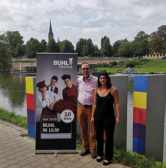 Seit 10 Jahren ist BUHL nun auch in Ulm vertreten.
