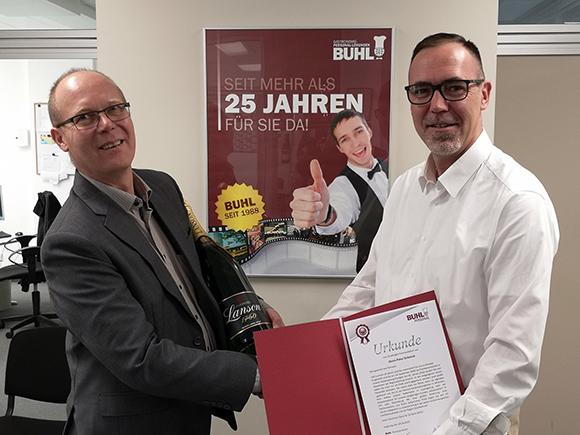 Auch in Stuttgart gibt es langjährige BUHL-Mitarbeiter.