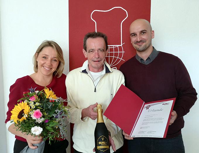 Mit 25 Jahren Betriebszugehörigkeit ist Ewald Köppel aus Berlin unser dienstältester Mitarbeiter.