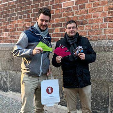 Das Team unserer Niederlassung Lübeck sprach Studenten an udn bot ihnen tolle Jobs in Lübeck.