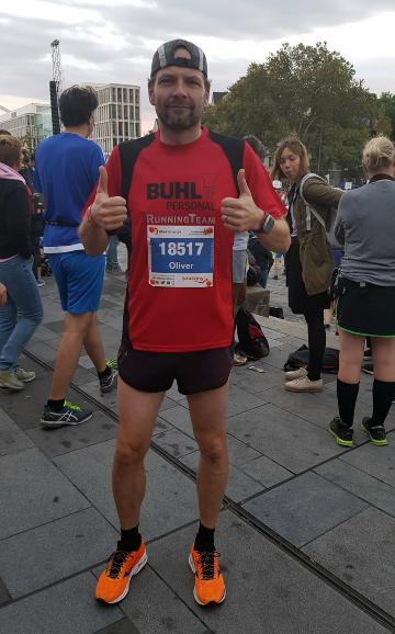 Buhl-Mitarbeiter aus Kiel läuft Marathon: erfolgreich!