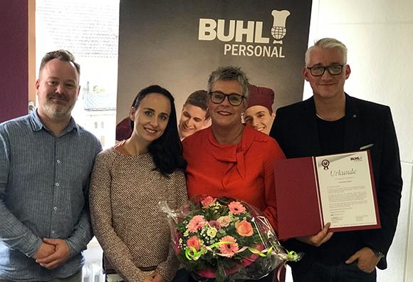 10 Jahre BUHL gab es diesmal in der NIederlassung Düsseldorf zu feiern.