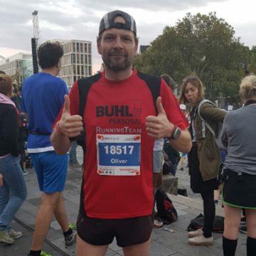 Der Marathon-Man aus Kiel: BUHL-Mitarbeiter oliver Feußner läuft in seiner Freizeit begeistert Marathon!
