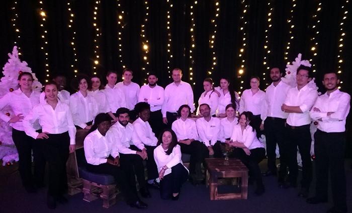Viele Gäste, viele Weihnachtsfeiern - wie gut, das es BUHL gibt!