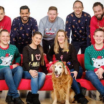 Auch in Essen freut sich das BUHL-Team schon auf Weihnachten.