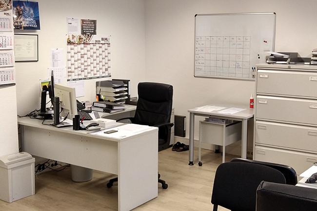 Ein typisches BUHL-Niederlassungs-Büro ... hier in Bochum.