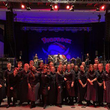 Beim Mega-Konzert von Torfrock gab es für den BUHL-Service viel zu tun!