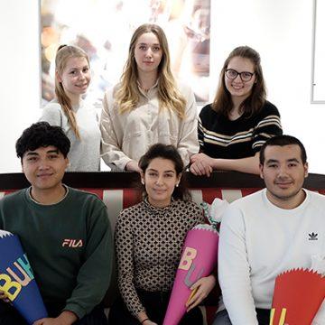 Im Februar begann das neue Ausbildungsjahr bei BUHL mit drei neuen Auszubildenden.