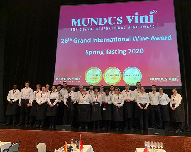 Mundus Vini ist ein in Deutschland ausgerichteter internationaler Wettbewerb für Weine aus allen Weinanbaugebieten der Erde.