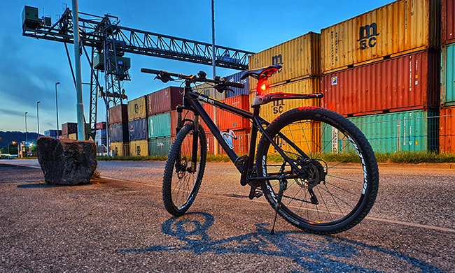 Fahrradfahren gegen die Corona-Langeweile ...