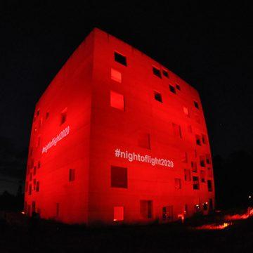 Viele wichtige Gebäude und Locations leuchteten in der Night of Light rot.