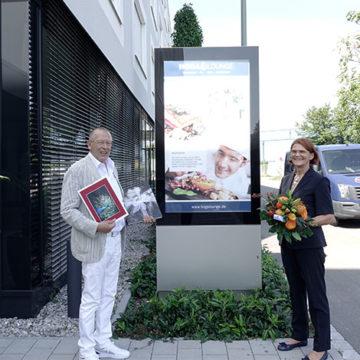 Titel Geburtstagsessen Charlotte und Hermann Buhl