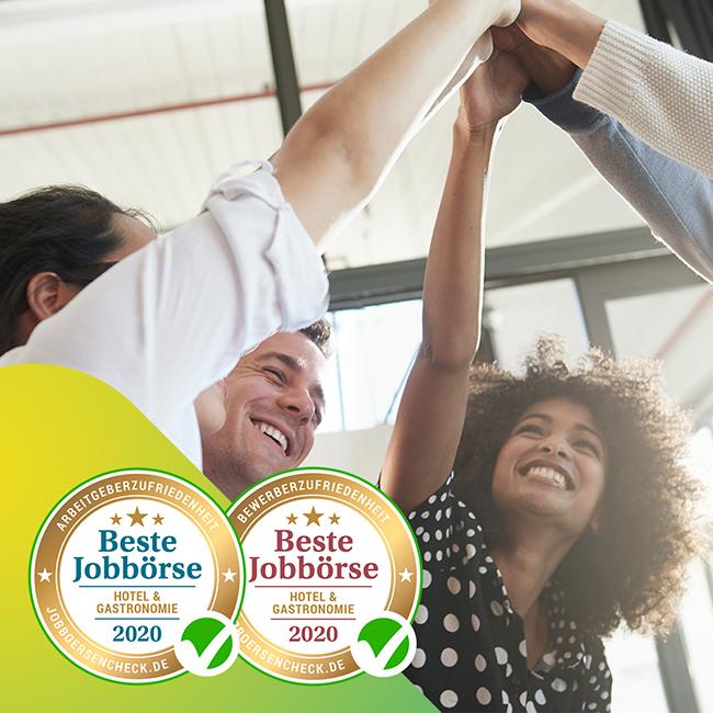 Die HOGAPAGE Jobbörse wurde zum wiederholten Male als eine der besten Online-Stellenbörsen für den Bereich Gastronomie geehrt.