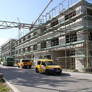 Buhl Business Center Rohbau 2017