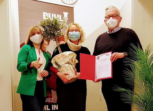 10 Jahre BUHL in Hannover, in unserer früheren Franchise-Niederlassung in der niedersächsischen Landeshauptstadt